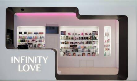 Fachada tienda erótica Infinity Love de Murcia